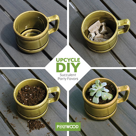 DIY Eco-Friendly Party Favors from POLYWOOD Blog