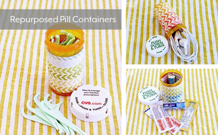 Repurposed-Pill-Containers