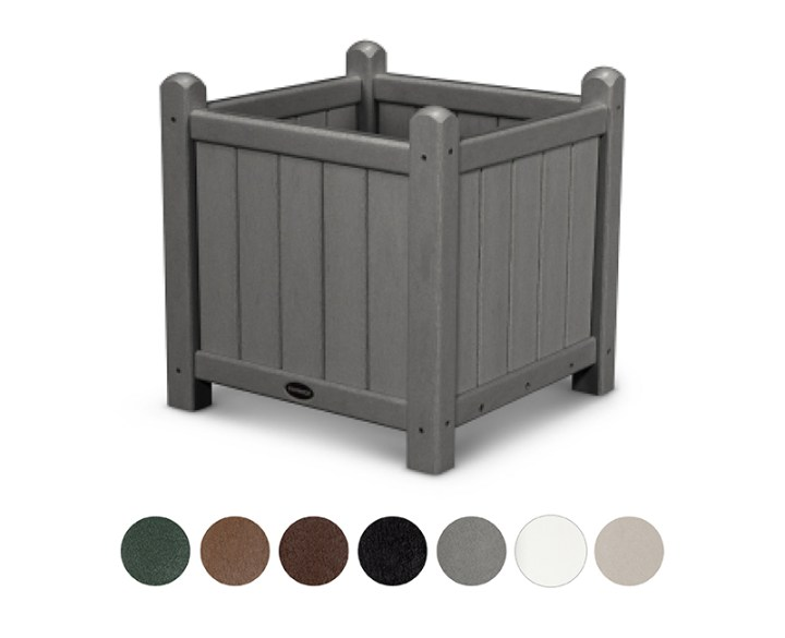 POLYWOOD-Traditional-Garden-16inch-Planter