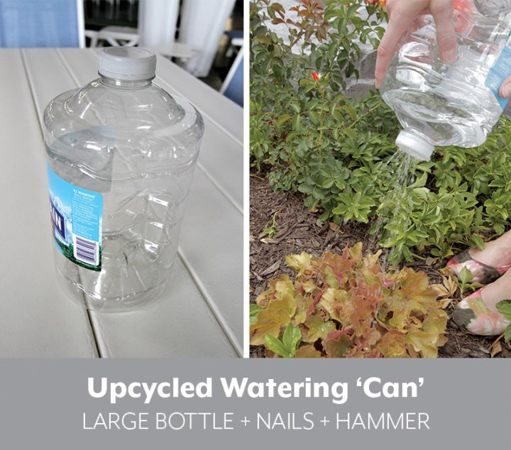 diy plastic water bottle watering can
