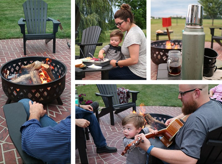 Campfire-Collage