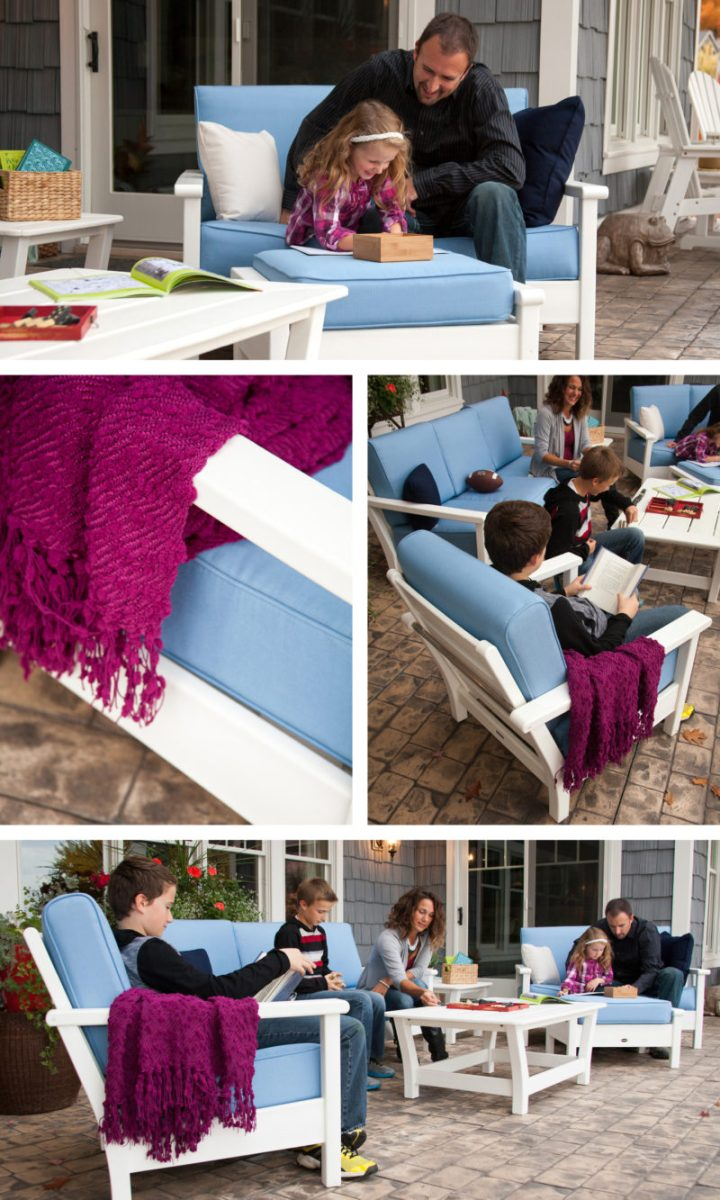 different types of patio seating