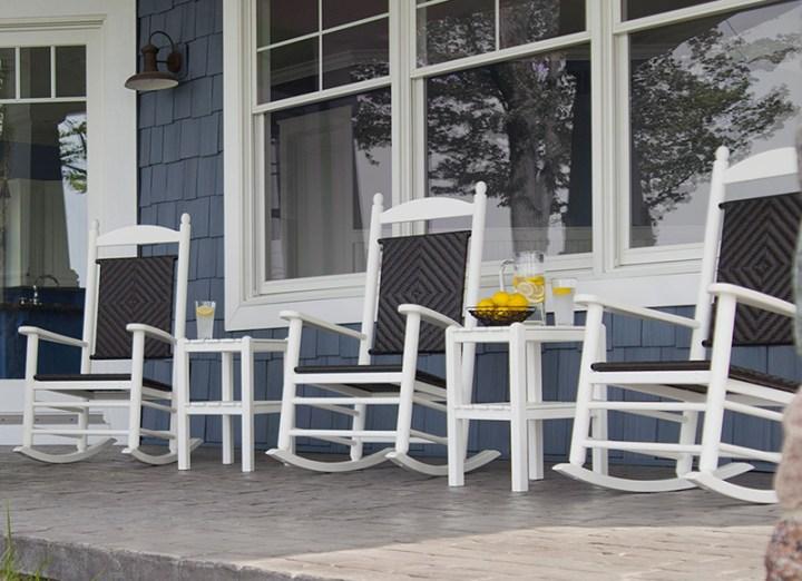 Jefferson Woven Rocking Chair