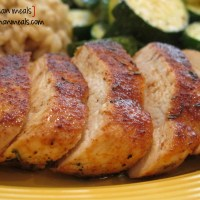 sweet rub roasted chicken