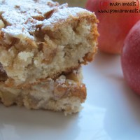 moist cinnamon apple bars