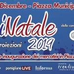 ILLUMINATALE 2019: inaugurazione domenica 8 dicembre, Piazza Municipio, ore 18,00