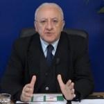 """Coronavirus, oggi 27 positivi in Campania. De Luca: """"C'è rilassamento, così non arriviamo a settembre"""""""