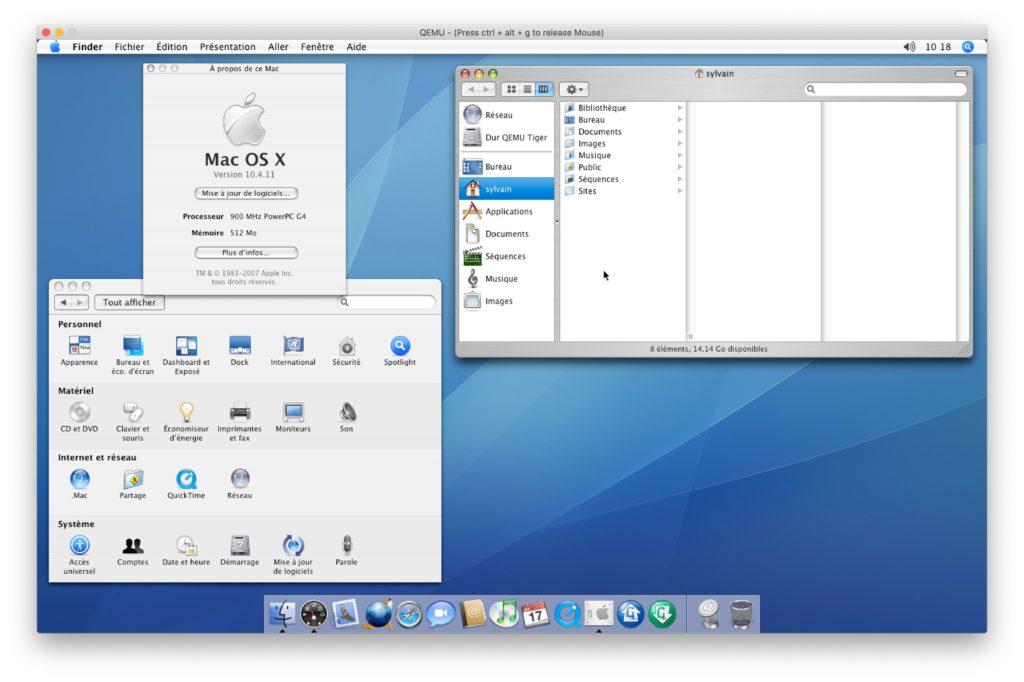 Mac OS X 10.4 Tiger