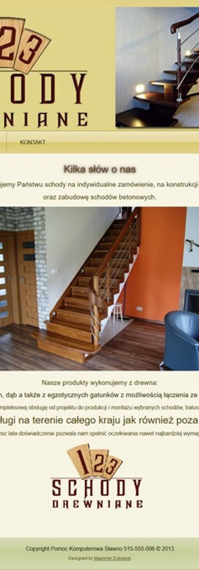 123 Schody Drewniane