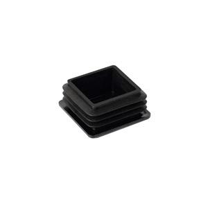 es taco contera tapon cuadrada interior pata silla mesa tubo metalica en ferrules cap plug inside square black plastic furniture chair