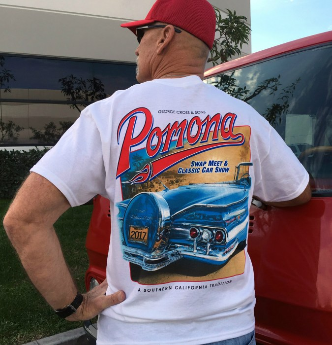 Official 2017 Pomona Swap Meet Event t-Shirt