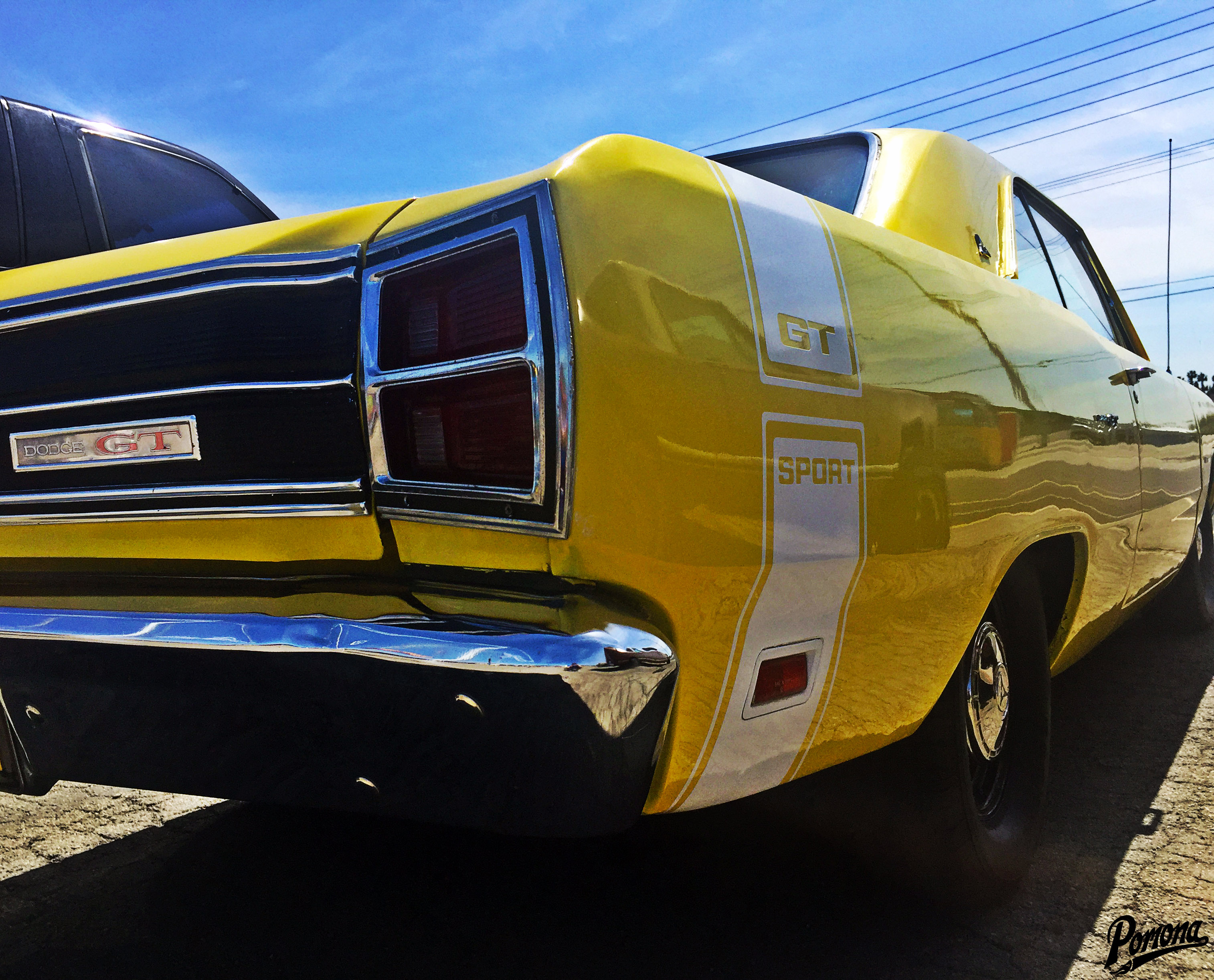 1969 Dodge Dart GT Taillights