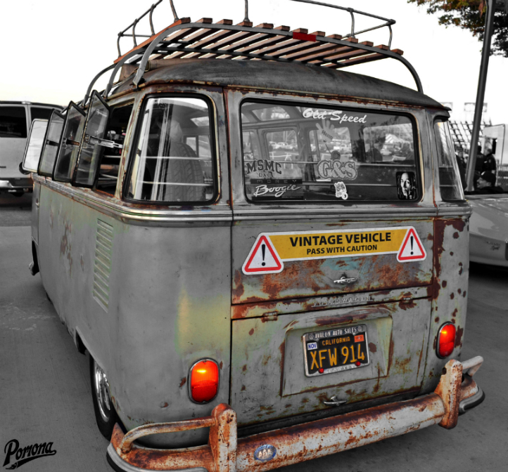 1963 VW Bus with Patina
