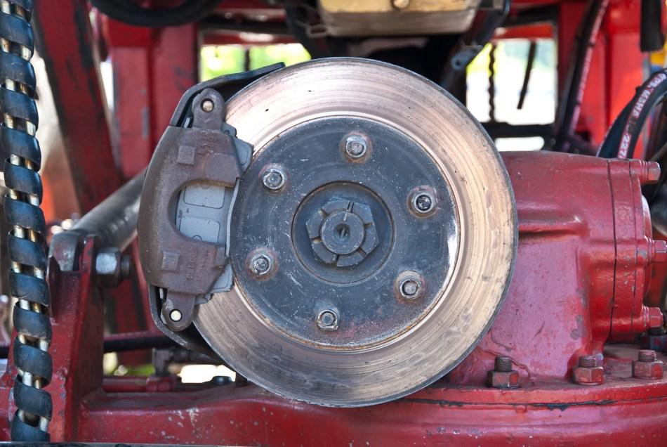 Brake Rotor & Caliper