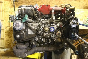 Engine With Timing Belt