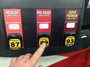 Gas Pump by Mike Mozart
