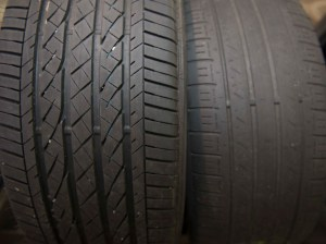 Good vs Bad Tire Tread
