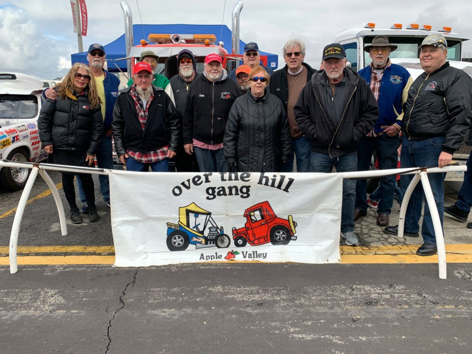 The Apple Valley Chapter of the Over the Hill Gang