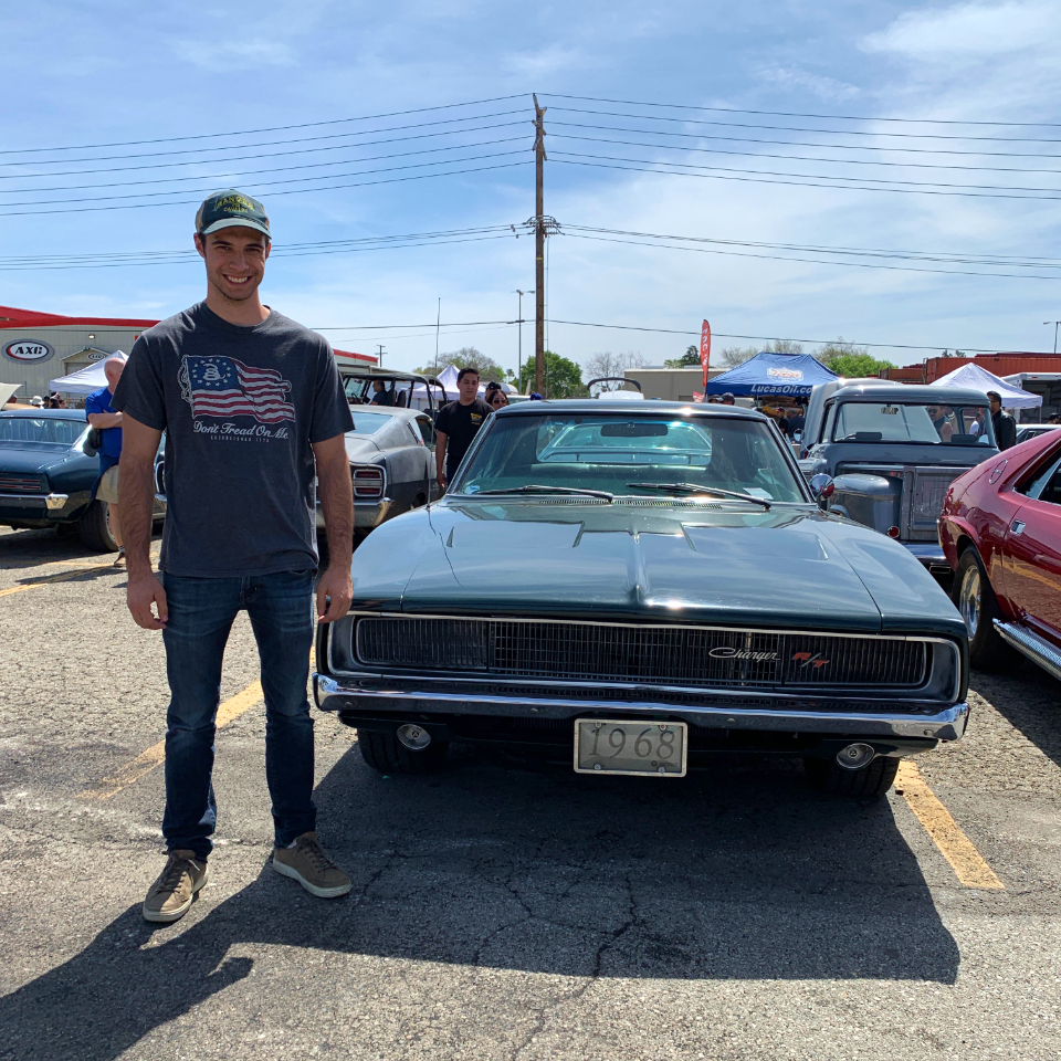 1968 Dodge Charger RT - Tyler Windes