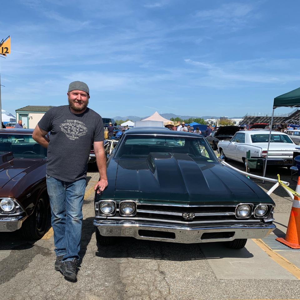 1969 Chevy Chevelle SS - David Filipoff