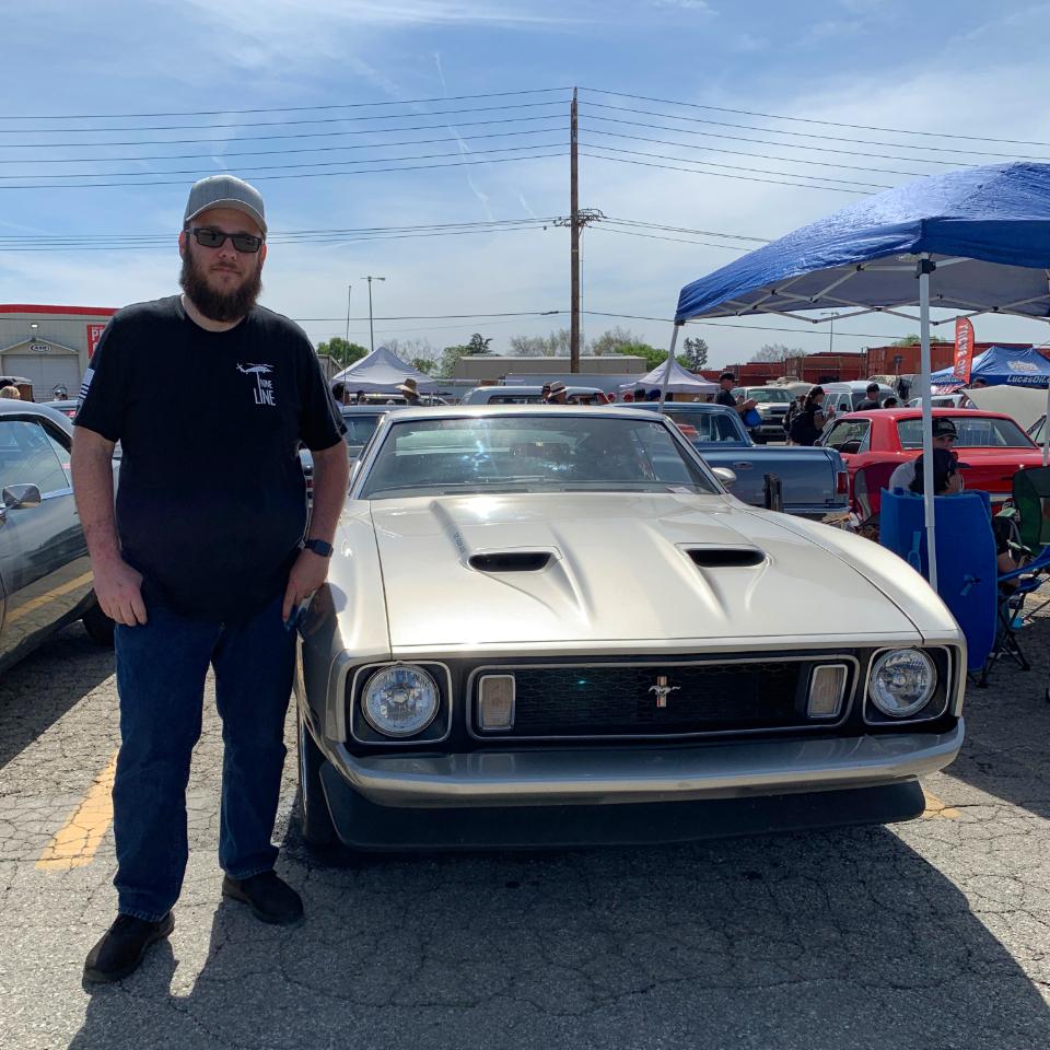 1973 Ford Mustang Mach 1 - Lee Duke