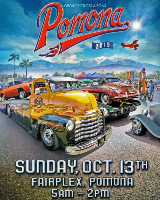 Pomona Swap Meet Flyer for Oct 2019