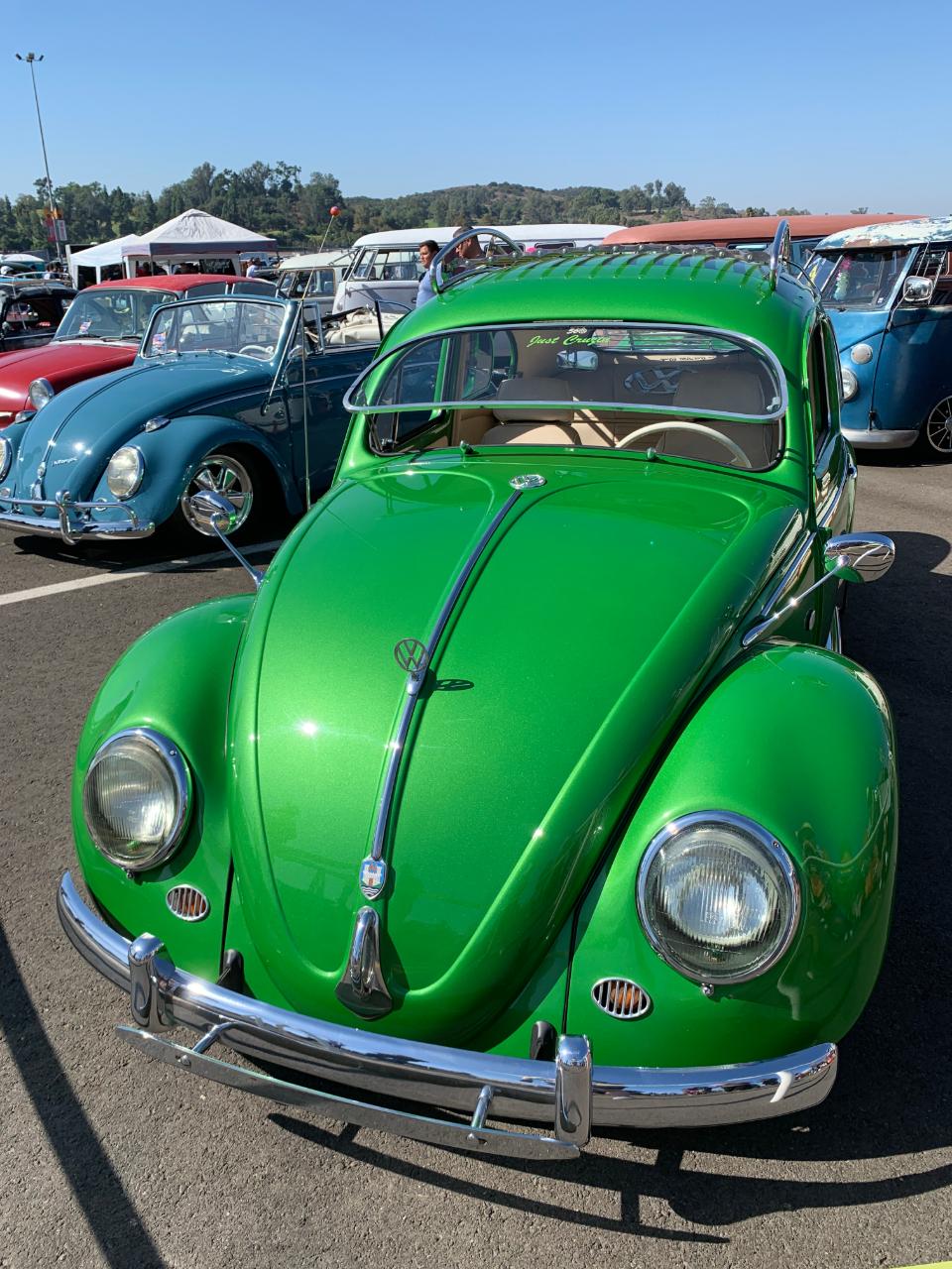 1956 VW Beetle - Front