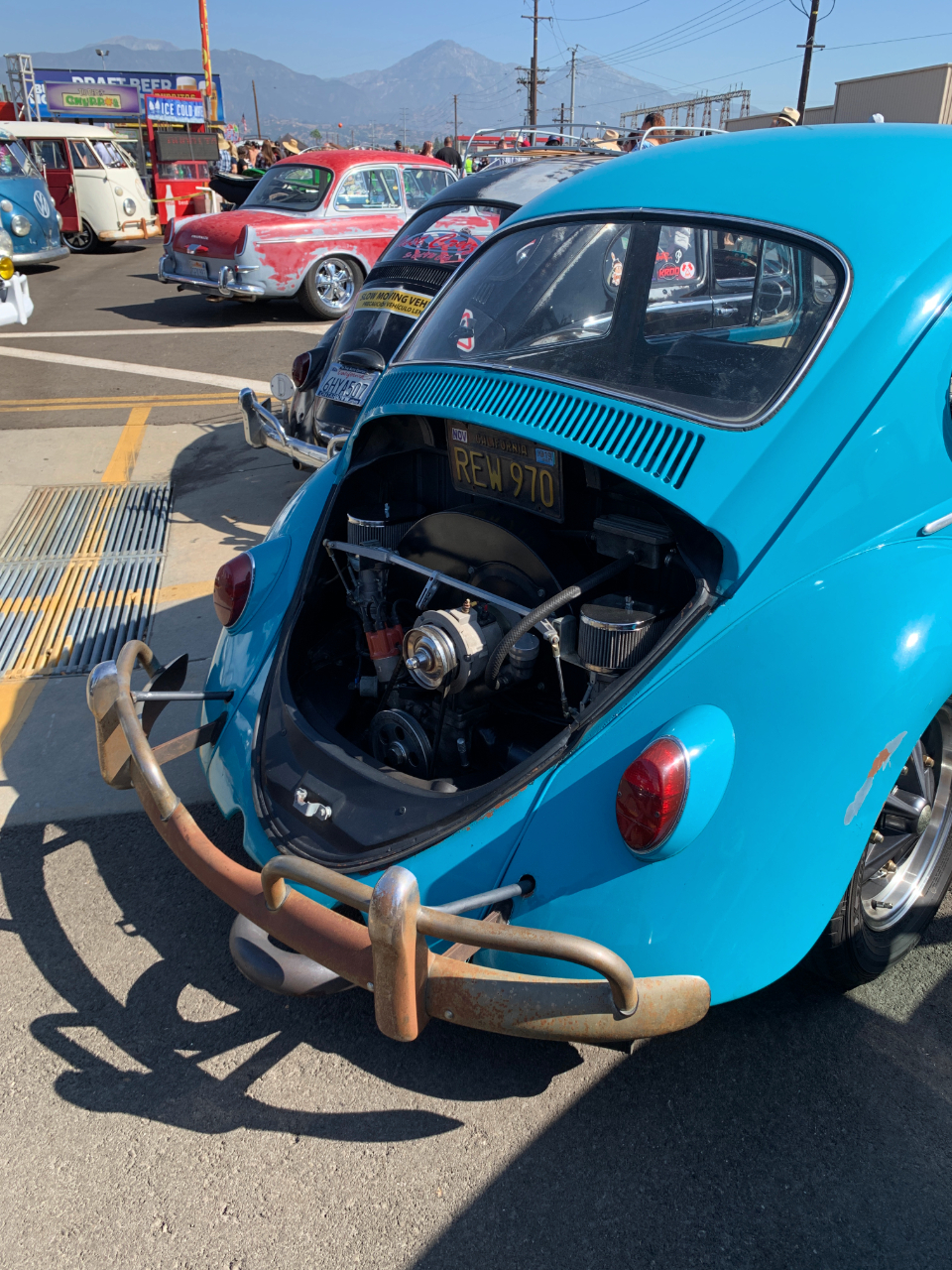1966 VW Bug Engine Compartment