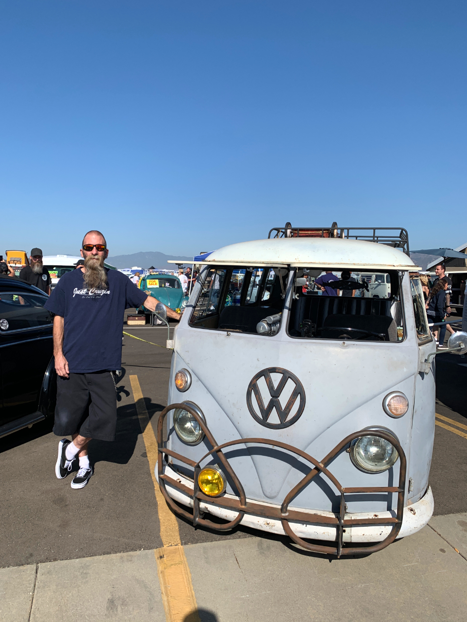 Gary Day with his 1965 VW Bus