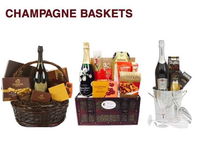 Champagne Baskets