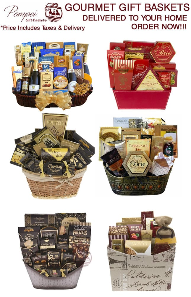 Gourmet gift baskets delivered to your home in Hackensack, NJ