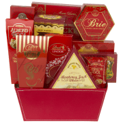 50 Shades of Red Gourmet Gift Basket