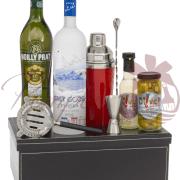 Martini Madness Vodka Gift Basket