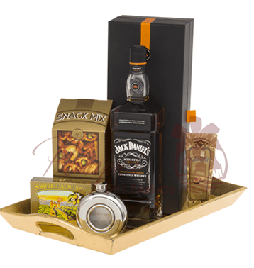 Liquor Basket Father Day's Gift