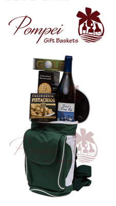 Dads Day Off Wine Gift Basket