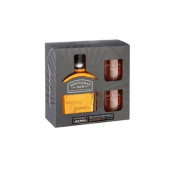 Gentleman Jack Whiskey Gift Set w/ 2 Glasses