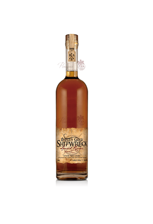 Brinley Gold Shipwreck Spiced Rum From Pompei Baskets