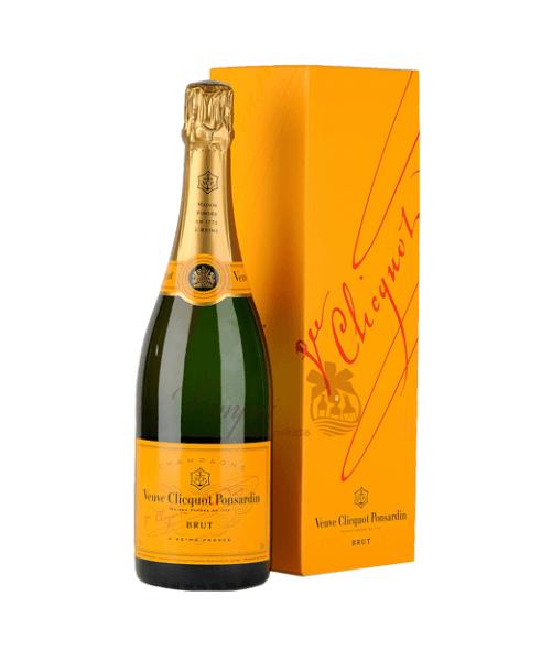 Veuve Cliquot Champagne Engraved Bottles