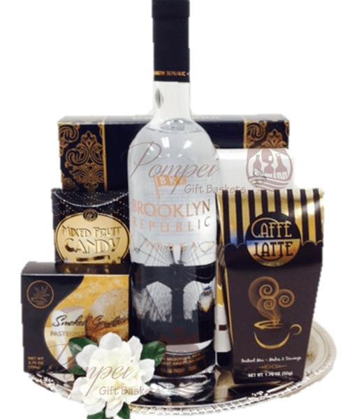 Brooklyn Vodka Gift Basket