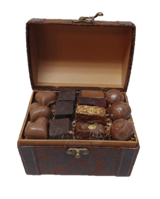 Custom Chocolate Gift Baskets