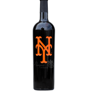 New York Mets Etched Club Series Cabernet Sauvignon, NY Mets Wine, Baseball wine, MLB Wine, NY Mets Collectible, MLB Collectible Wine Bottles