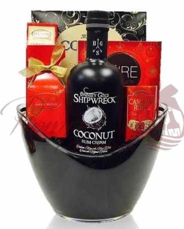 Valentines Day Liquor Baskets NJ