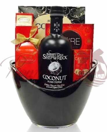 Valentines Day Liquor Baskets NJ