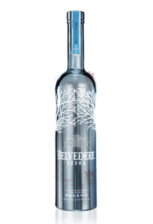 Belvedere Silver Saber Luminous Bottle