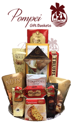 Snackers perfect gourmet gift basket by pompei baskets snackers perfect gourmet gift basket negle Image collections