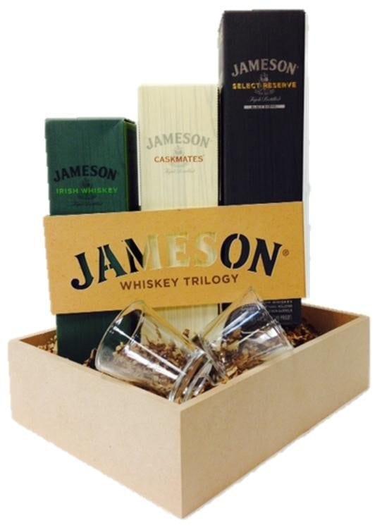 Irish Whiskey Gift Basket