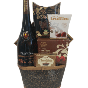 Digestifs Delight Vodka Gift Basket