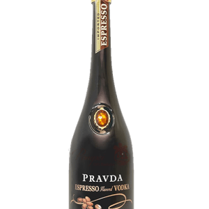 Pravda Espresso Vodka, Pravda Vodka, Brown Gem Vodka, Polish Vodka, Vodka from Poland, Pravda Gift Basket, Pravda Gifts NJ, Pravda Gifts NYC, Pravda Gifts CA, Espresso Gift Basket, Espresso Vodka
