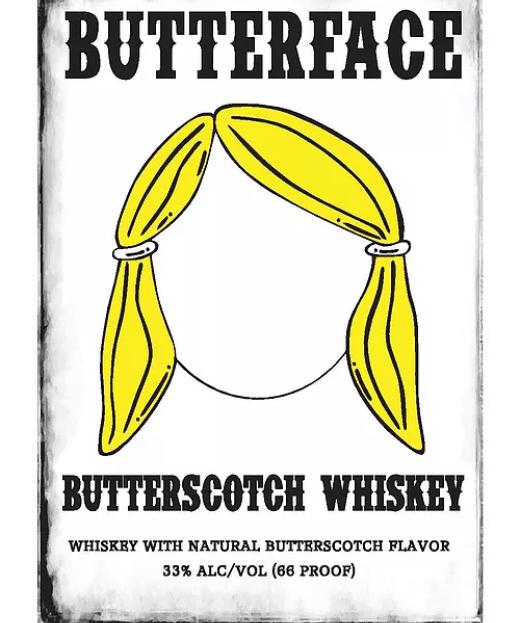 Butterface Butterscotch Whiskey