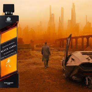 Johnnie Walker Black Label Blade Runner 2049, Johnnie Walker Blade Runner, JW Blade Runner, Johnnie Walker Black 2049, Johnnie Walker Blade Runner